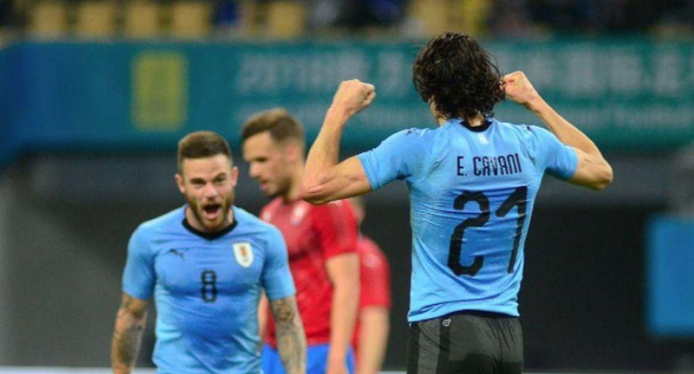 Uruguay ganó a República Checa por la China Cup 2018.