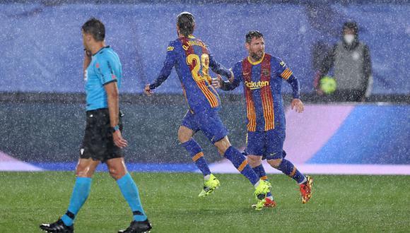 Barcelona quedó a un punto del Real Madrid, líder de LaLiga. (Getty)