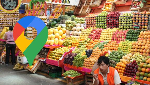 ¿Necesitas ir al mercado durante el periodo de cuarentena? Conoce si está abierto o cerrado en Google Maps. (Foto: Andina)