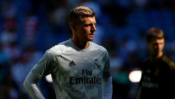 Real Madrid ha informado que Toni Kroos sufre una lesión en el aductor de la pierna izquierda. (AFP)