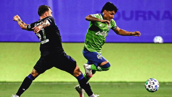 San José jugó con Seattle en duelo por la MLS. (Foto: Sounders FC)