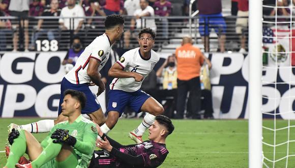 México perdió 1-0 ante Estados Unidos en la final de la Copa Oro 2021. (Foto: AFP)
