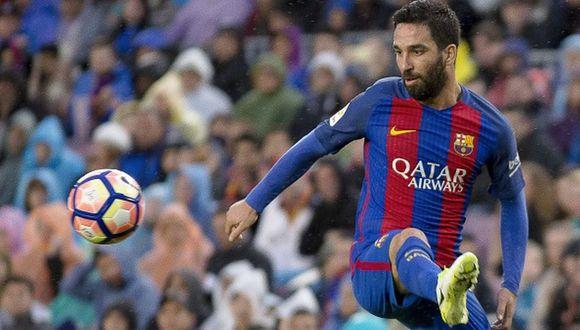 Arda Turan llegó al Barcelona en 2016 desde el Atlético de Madrid. (Getty)