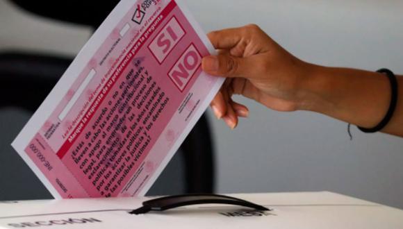 Este domingo 1 de agosto se realizó la primera Consulta Popular en México.  (Foto: INE México)