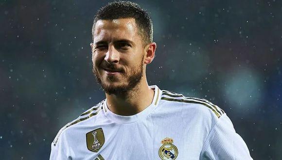 Eden Hazard llegó esta temporada al Real Madrid procedente del Chelsea. (Foto: EFE)