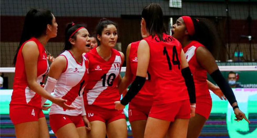 Selección peruana de vóley clasificó a octavos de final del Mundial Sub-18 en México