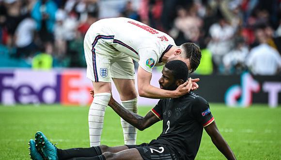 Alemania perdió ante Inglaterra y se despidió de la Eurocopa 2021. (Getty)