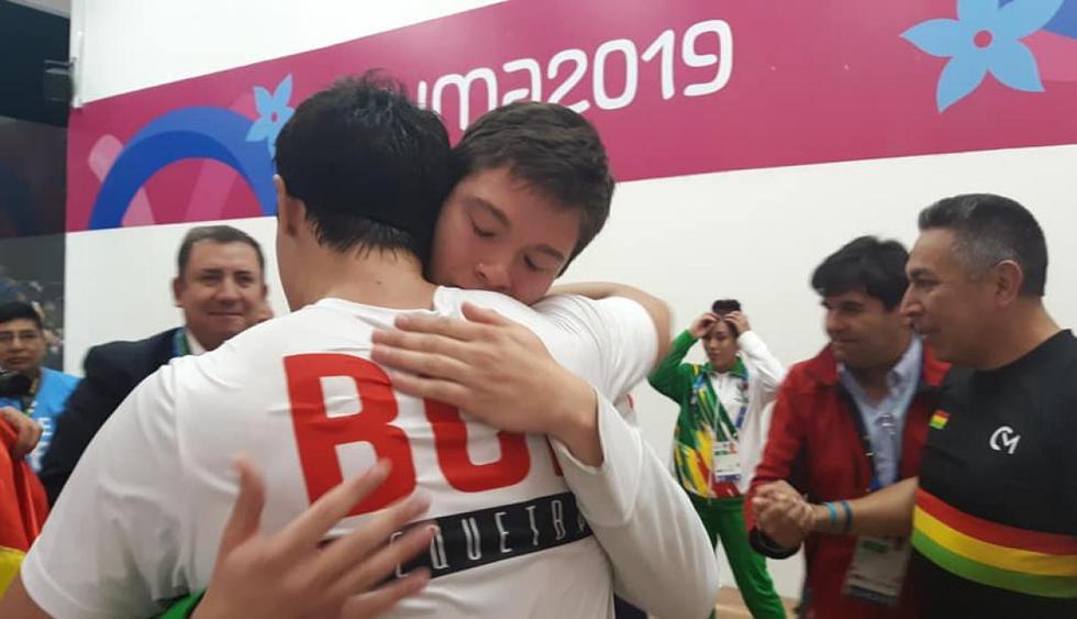 Bolivia Ráquetbol. (Fotos: Comité Olímpico Boliviano - COB)