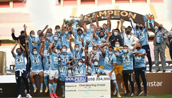 Sporting Cristal campeonó la Liga 1 2020. (Foto: Liga 1)