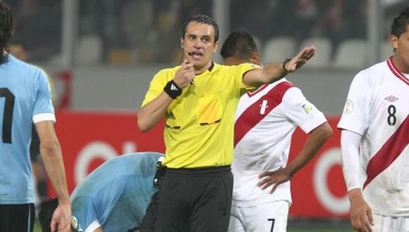 Loustau encabezará terna arbitral del Perú vs. Brasil (Foto: Agencias)