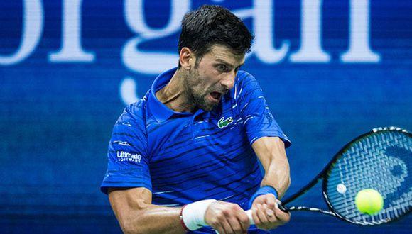 Novak Djokovic es el actual campeón del US Open 2019. (Getty Images)