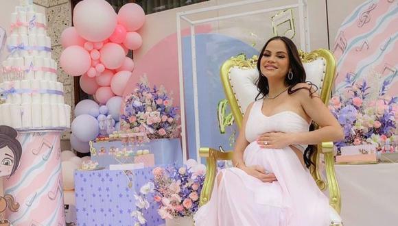 Natti Natasha anunció que tendrá una niña, fruto de su relación con el productor Raphy Pina. (Foto: @nattinatasha)