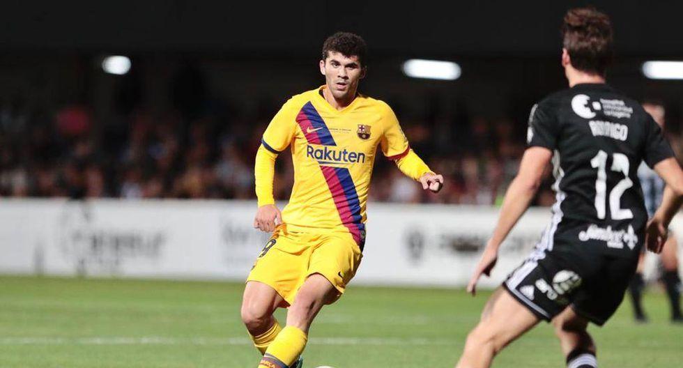 Barcelona venció 2-0 a Cartagena en Murcia por partido amistoso. (@Barcelona)