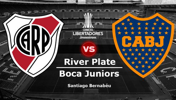 River Plate y Boca Juniors definirán al campeón de la Copa Libertadores este domingo 9 de diciembre en el Santiago Bernabéu.