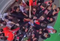 Listos para la inauguración: el festejo de la delegación peruana antes de asistir al Estadio Olímpico [VIDEO]