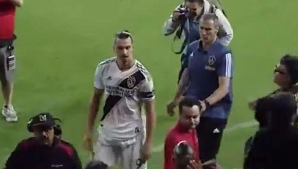 Zlatan Ibrahimovic quedó eliminado con el LA Galaxy en las semifinales de la MLS.