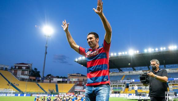Gianluigi Buffon regresó al Parma después de 26 años. (Foto: @1913parmacalcio)