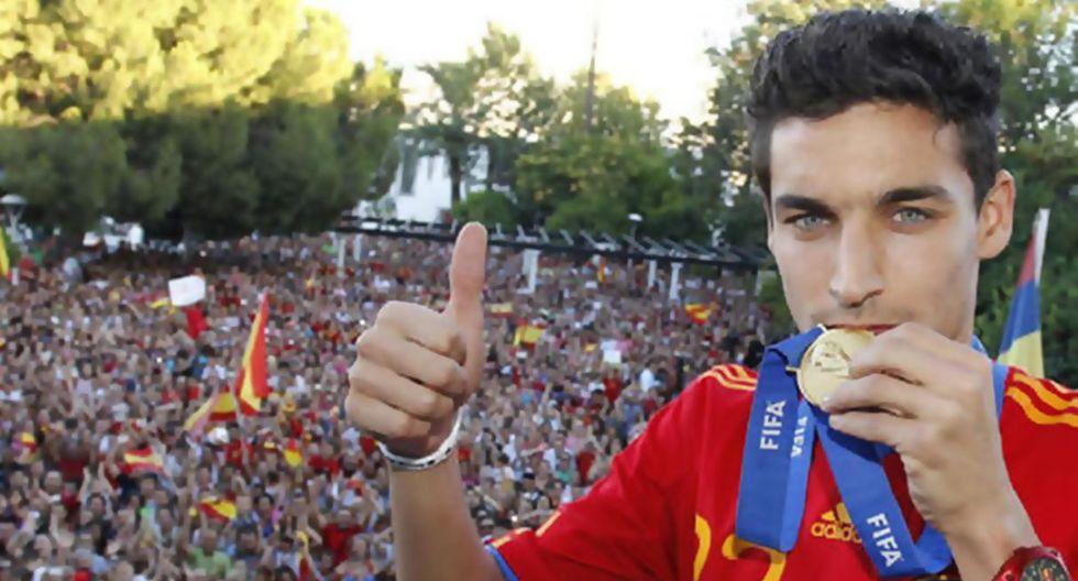 Jesús Navas juega en el Sevilla. (Getty)