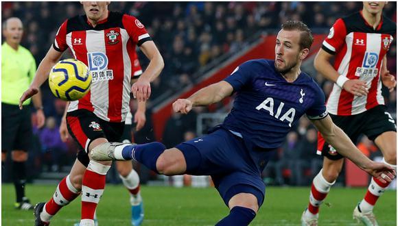 Harry Kane es el goleador del Tottenham de la Premier League. (Getty)
