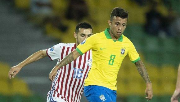 Paraguay no pudo con Brasil y quedó eliminado por Preolímpico Sub-23 en Armenia. (Twitter)