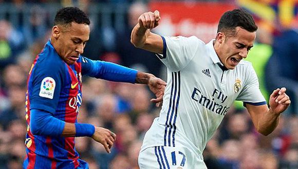 Neymar se ha enfrentado al Real Madrid desde la temporada 2013/14. (Getty Images)