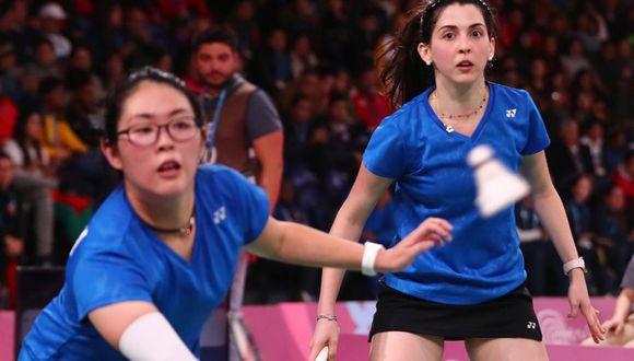 Daniela Macías y Danica Nishimura planean competir en ocho torneos más como dupla antes del cierre de la clasificación a Tokio 2020. (Foto: Daniel Apuy/GEC) Daniel Apuy / Grupo El Comercio