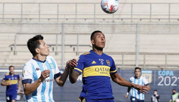 Boca y Racing jugaron por la Copa Argentina. (Foto: Agencias)