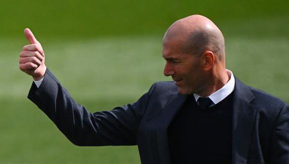 Zidane conquistó tres Champions consecutivas con el Real Madrid. (Foto: AFP)