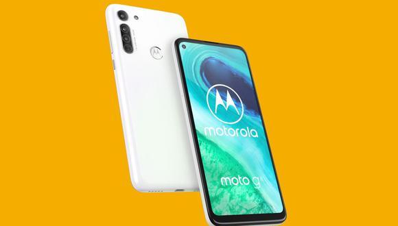 Motorola lanza su nuevo smartphone de gama media, el Moto G8. (Foto: Motorola)
