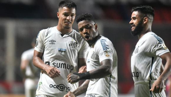 San Lorenzo vs. Santos se vieron las caras este martes por la Fase 3 de la Copa Libertadores 2021 (Foto: @SantosFC)