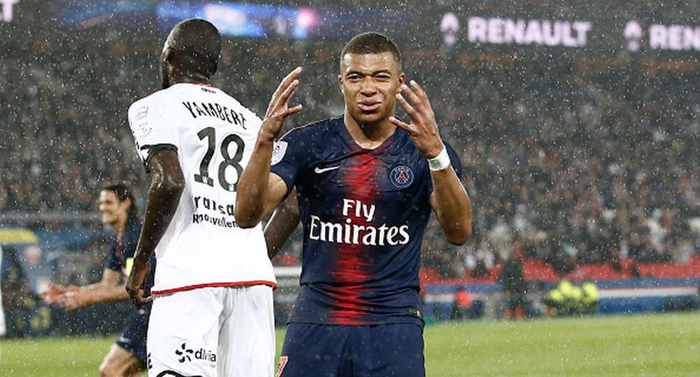 Kylian Mbappé llegó al PSG en la temporada 2017/18. (Getty)