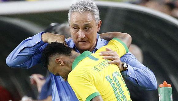 Neymar anotó gol y se puso a diez de Pelé en tabla histórica de artilleros. (Foto: AFP)