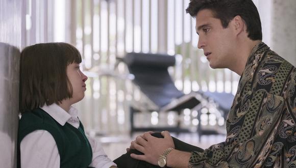 Luis Miguel, La Serie: ¿cuál es la relación del 'Sol de México' con su hermano menor Sergio?. (Foto: Netflix)