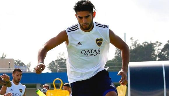 Carlos Zambrano regresó a los entrenamientos con Boca Juniors de cara al reinicio de la Superliga Argentina