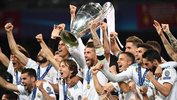 Real Madrid ganó la Champions League por última vez en 2018. (Foto: AFP)