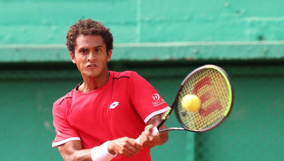 Juan Pablo Varillas cayó frente a Brayden Schnur por la 'qualy' del Roland Garros 2020. (GEC)