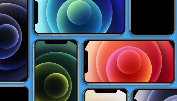 ¿Quieres tener todos los fondos de pantalla del iPhone 12 en tu celular? Usa este enlace. (Foto: Apple)