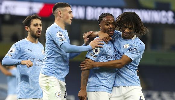 Manchester City venció al Arsenal por la Premier League. (AFP)