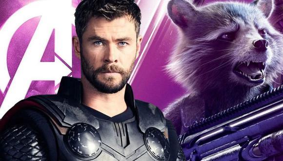 Thor y Rocket Raccoon (Marvel)