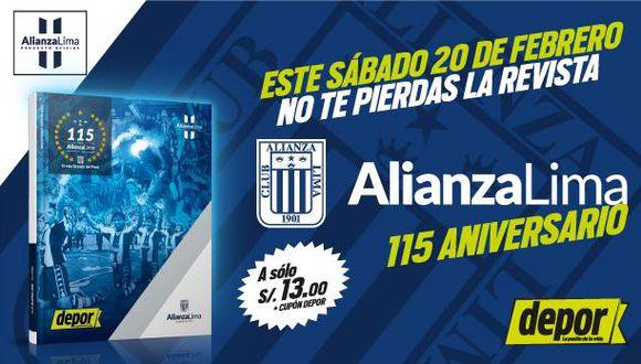 ¡Atención hincha blanquiazul!: no te pierdas la revista de Alianza Lima por los 115 años