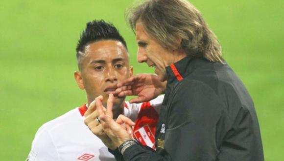 Ricardo Gareca considera titular a Christian Cueva en la Selección Peruana. (Foto: GEC)
