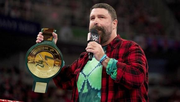 Mick Foley, leyenda de WWE, dio positivo por coronavirus. (WWE)