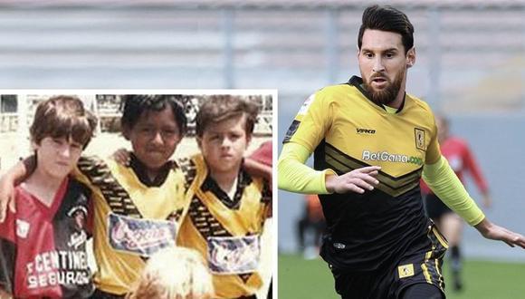 Mesi enfrentó a Cantolao cuando era niño. (Foto: AC)
