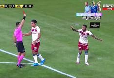 Polémica expulsión: Quintero vio la roja en el Universitario vs. Palmeiras tras dividida con Weverton [VIDEO]