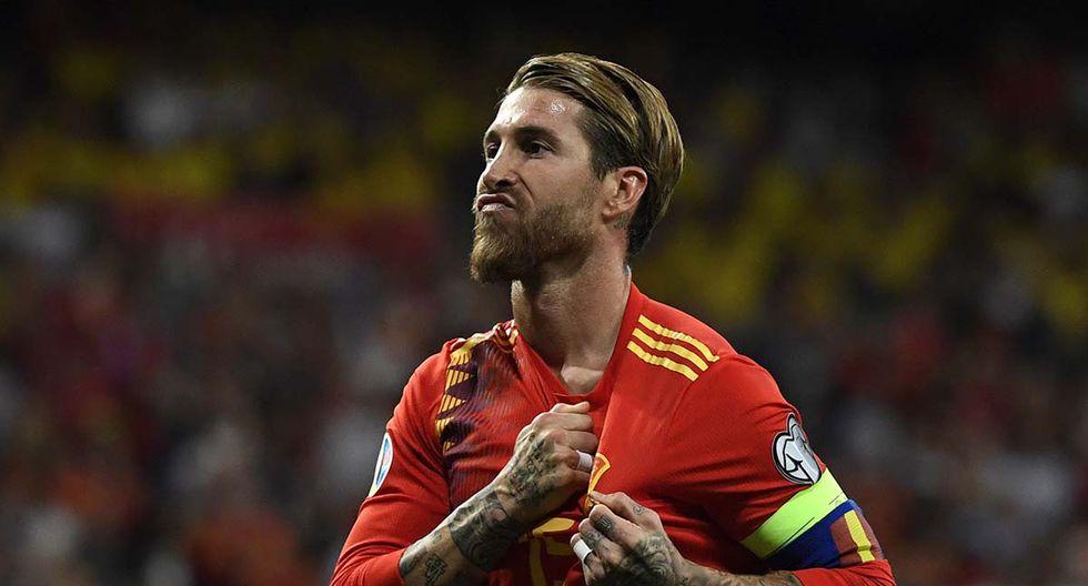 Sergio Ramos podría ser convocado para los próximos Juegos Olímpicos y buscar obtener el último título que le falta en su carrera. | Foto: AFP