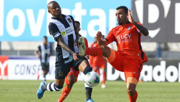 Leandro Fleitas, tuvo un fuerte enfrentamiento verbal con Arley Rodríguez tras el choque entre Alianza Lima y Cesar Vallejo .(Foto: Liga 1)