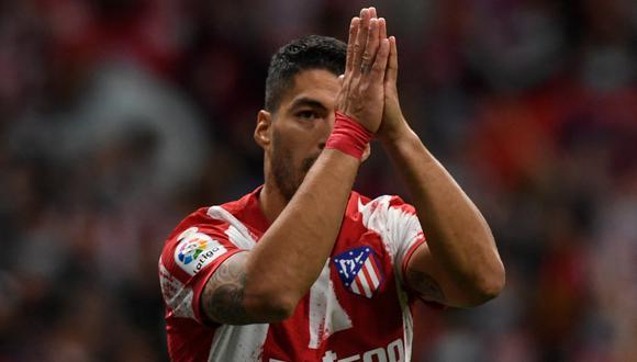 Luis Suárez dejó el Barcelona en el 2020 para fichar por el Atlético de Madrid. (Foto: AFP)