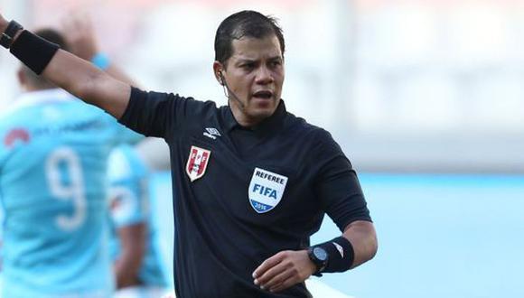 Víctor Hugo Carrillo es uno de los árbitros peruanos para la Copa América. (Foto: GEC)
