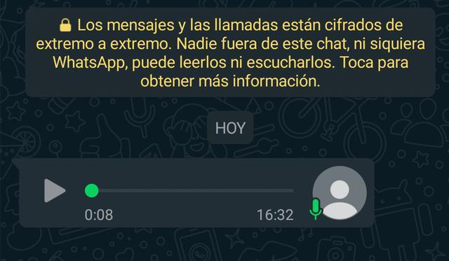 ¿No escuchas bien tus audios que te mandan por WhatsApp? Usa este truco. (Foto: Mag)