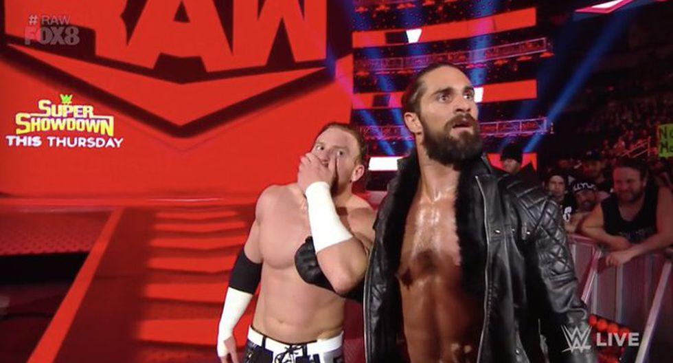 Angelo Dawkins derrotó a Murphy por descalificación debido a la intromisión de Seth Rollins. (Foto: WWE)